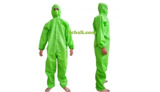 Bali hazmat safety disposable jumpsuit protection virus covid19 workerwear clothing