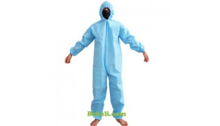 Coverall Hazmat Suit Disposable Antivirus Protection Work Safety