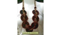 Beads Gold Necklaces Mix by Woods
