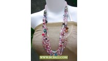 Cute Style from Bcbali Layer Necklace Beading