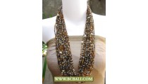 Beaded mix Pearls Fashion Necklaces