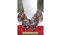 Fashion Necklaces Butterfly Chockers Beaded