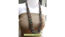 Bcbali Handmade Necklaces Corn Beading