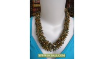 Bcbali Necklace Beading Chockers