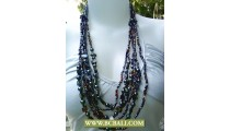 Bali Beaded Necklaces
