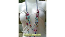 Mix Color Shells Nugets Fashion Necklaces Beads