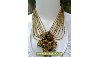Mix Beads Chockers Necklaces Fashion with Stones