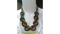 Coloring Beading Necklaces Fashion with Woods