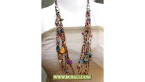 Fashion Beads Necklaces with Shells Nuget