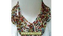 Bcbali Chockers Buterfly Necklaces Beading