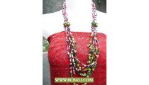Pearls and Shells Necklaces Fashion Beading