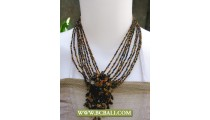 Stone and Beaded Fashion Necklaces
