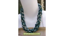 Wrap Fashion Necklaces  Beads Coloring