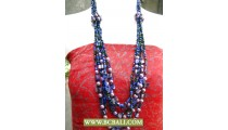 Necklaces Fashion mix Pearls and Shells Beaded