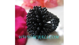 Beads Rings Fashion Women's
