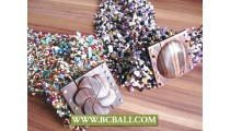 Stone Beads Belts Fashion Wooden Clasps Stretching