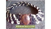 Bali Belt Fashion Coco Woods with Buckle