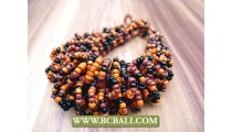 Beads Wired Multi Color Threads Bracelets Fashion