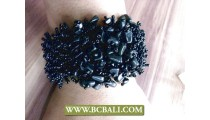 Bracelets Stretch Beads Stone Accessories