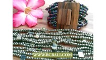 Classic Fashion Wooden Beads Clasps
