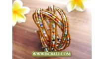 Women Cuff Bracelets Multi Color Balinese Collections