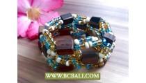 Handmade Bracelet Unfinish Wood accessories