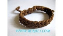 Bali Leather Bracelets Handmade