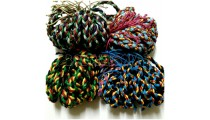 multi color leather hemp bracelets braided friendship