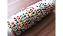 hemp bracelets wooden beads 20 pieces