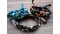 genuine leather hemp bracelets braids handmade mix