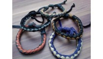 leather bracelet hemp un gender designs 2015