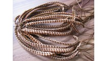 friendship hemp bracelets leather braids natural