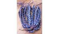 leather hemp bracelets braids friendship handmade