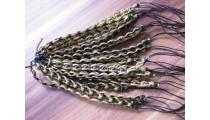 friendship bracelet leather braided handmade for men