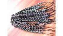 friendship bracelet leather braids for men's handmade