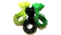 3 color tassels bracelets braids strings mono color