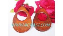 Bali Coco Shells Earring Design