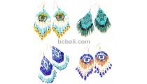 crystal beads earrings miyuki new design