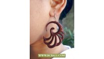 Bali Handmade Wooden Earring