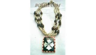 Bali Beads Necklaces Pendants
