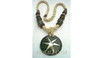 Beads Wood Necklaces Pendants