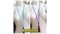 Fashion Necklaces Tasssel Seeds Bead