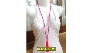 Necklace Tassel Fashion Handmade Bali