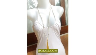 Fashion Necklace Tassels Beaded