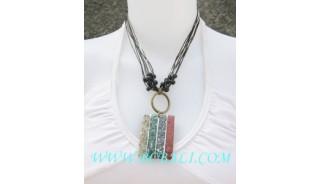 Ladies Fashion Seashell Necklace Pendants
