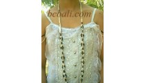 Long Beads Necklace with Beads