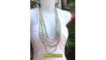 Bali Beads Fashion Necklaces Handmade Jewelry