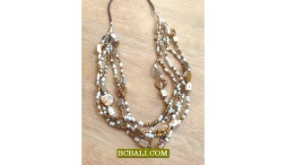 Bali Handmade Beaded Necklaces Fashion