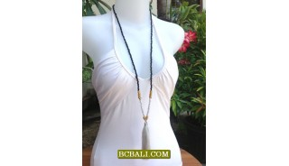 BeadsTassel Necklace Pendant Long Seeds Fashion