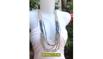 Indonesian Beads Fashion Necklaces Handmade